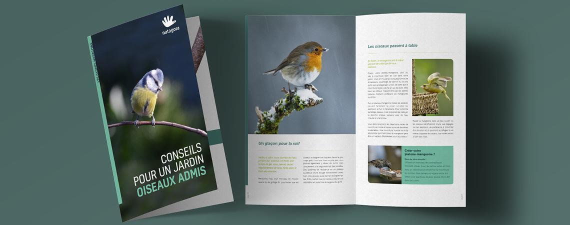 Une Brochure Gratuite Pour Un Jardin Oiseaux Admis Toute L Annee